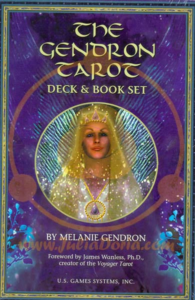 THE GENDRON TAROT KARTE (SET karte & knjiga)