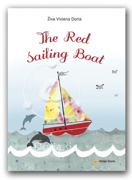The red sailing boat - a rebus story book