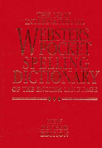 WEBSTER'S POCKET SPELLING DICTIONARY